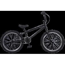 Велосипед BMX TECH TEAM STEP ONE 2021 рама 18,7 КОЛЁСА 20 + пеги в подарок! черный