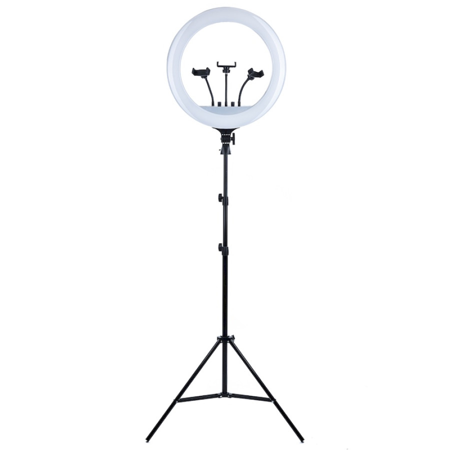 Кольцевая LED лампа 54 см со штативом 2,1м