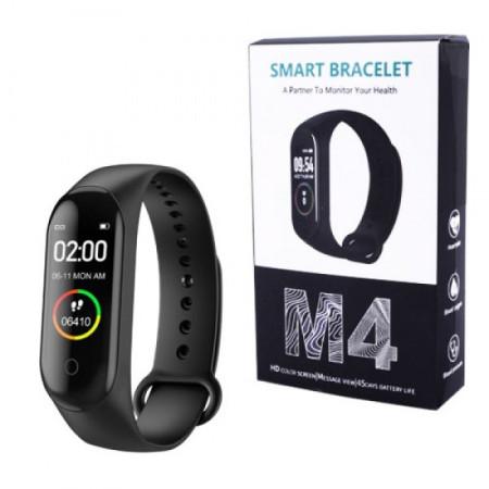 Смарт браслет M4 Color Screen Smart Bracelet Heart Monitor Blood Pressure Fitness Tracker Sport Band