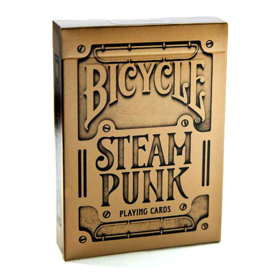 "Карты ""Bicycle Gold Steampunk"""