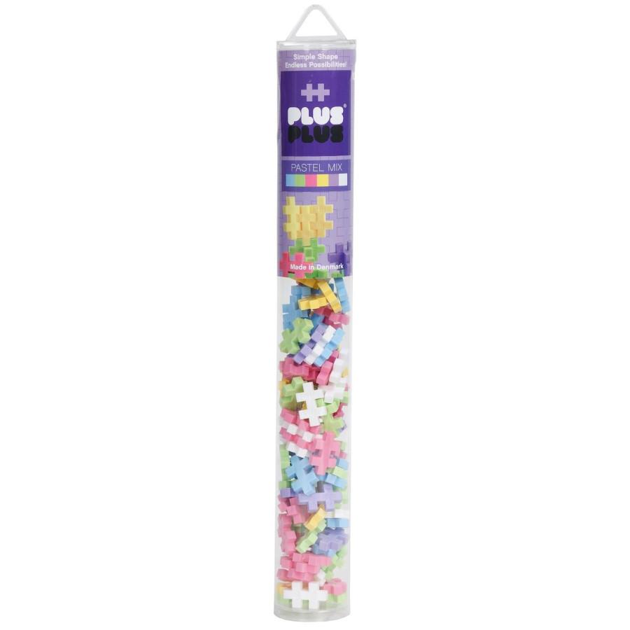 Конструктор Plus-Plus Mini 100 Pastel