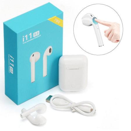 Беспроводные наушники TWS i11 5.0 Wireless Bluetooth Headphone White