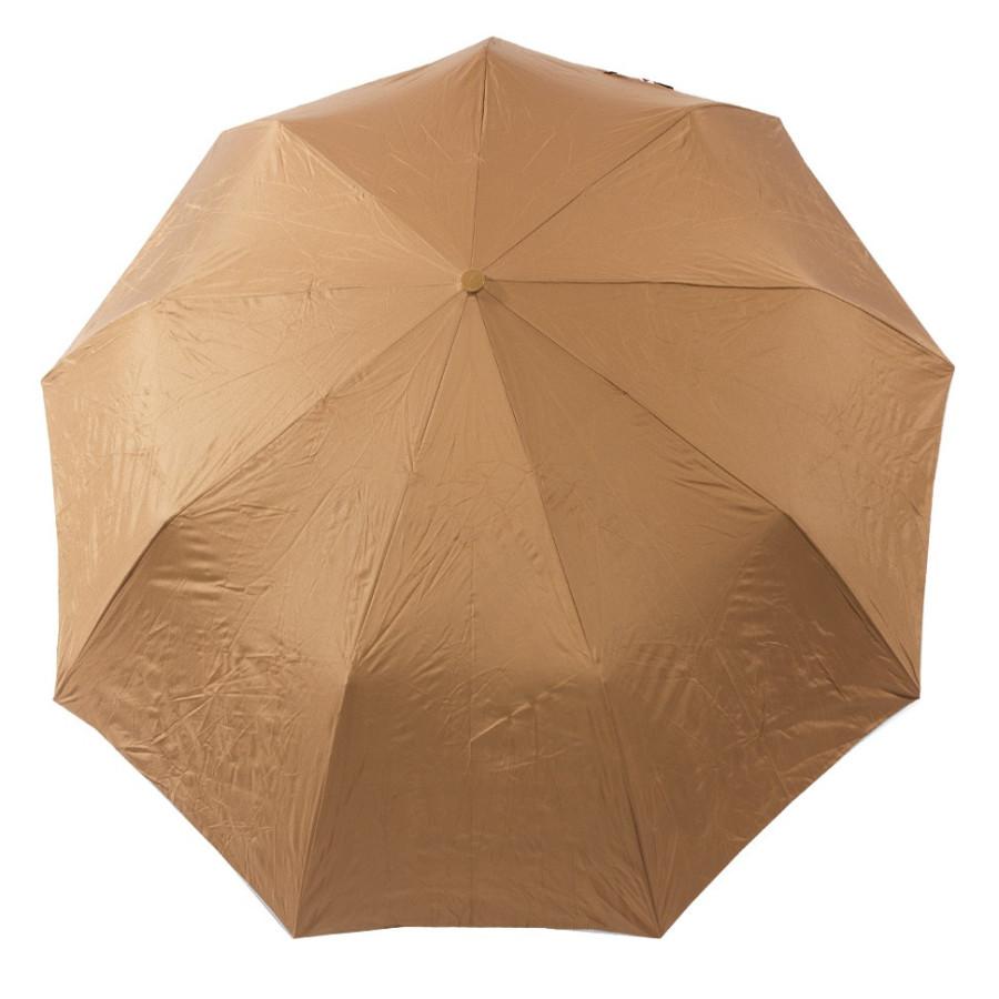 """Зонт женский 3 сложения полуавтомат """"Город снизу"""" диаметр купола 116 см 9 спиц"""