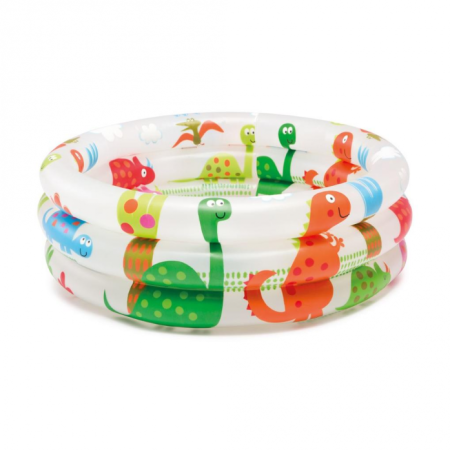 Детский бассейн надувной Intex Дино 61*21см 57106