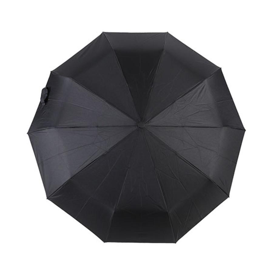 """Зонт мужской 3 сложения автомат """"Прямая ручка"""" 10 спиц"""