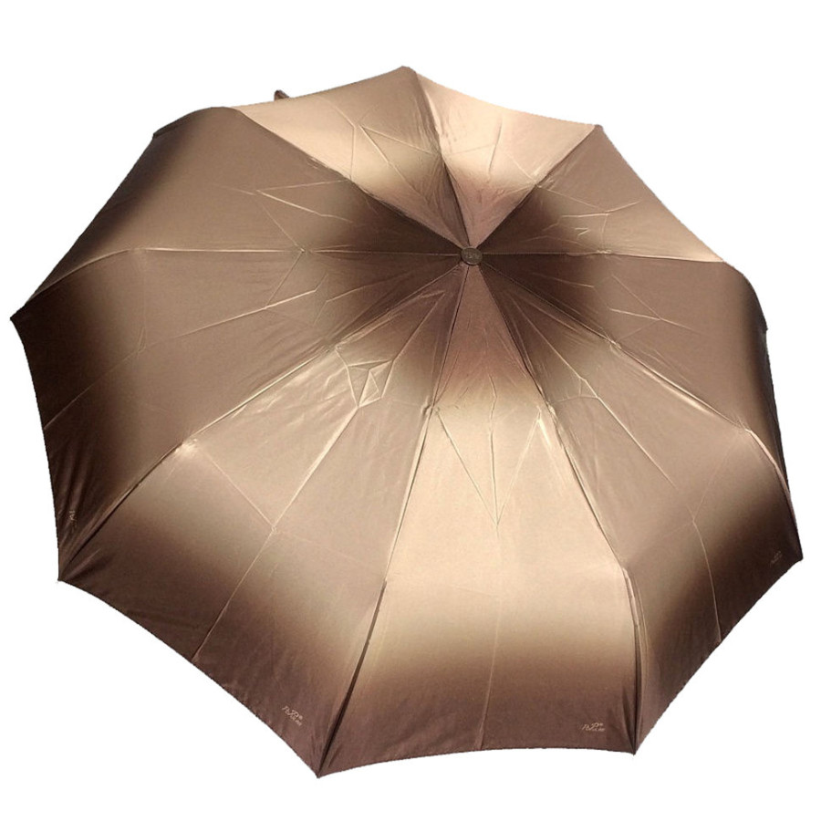 """Зонт женский 3 сложения полуавтомат """"UMBRO"""" 9 спиц"""