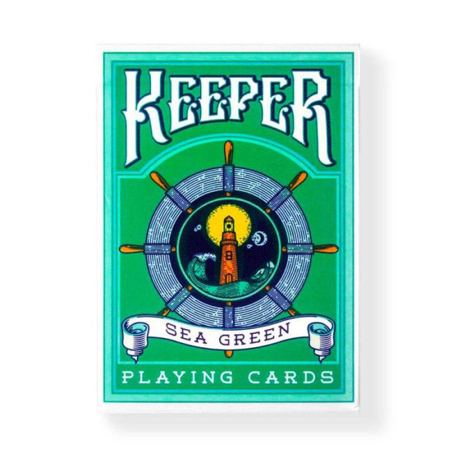"Карты ""Ellusionist Keepers Green"""