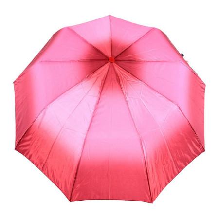 "Зонт женский 3 сложения полуавтомат ""Сатин"" 9 спиц"