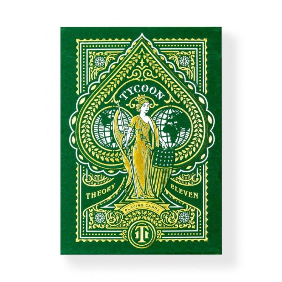 "Карты ""Theory11 Green Tycoon"""