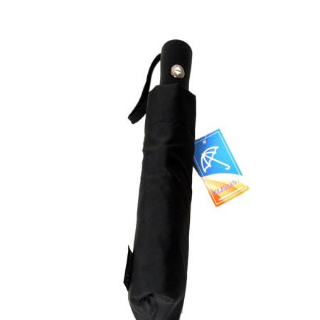 """Зонт мужской 3 сложения автомат """"Прямая ручка универсал"""" эпонж 9 спиц"""
