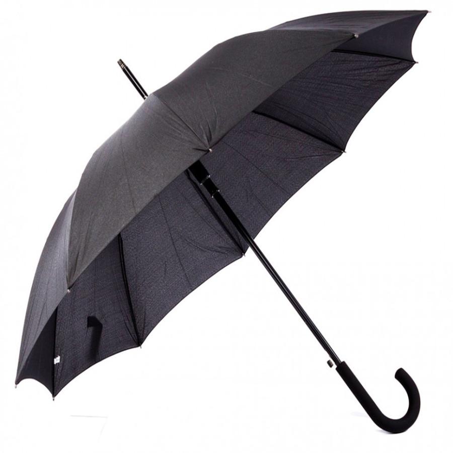 """Зонт мужской трость""""эпонж"""" 9 спиц"""