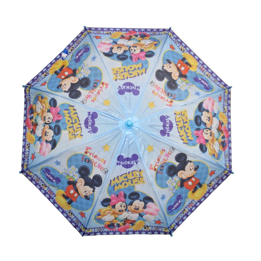 Зонт детский Микки Маус трость 8 спиц
