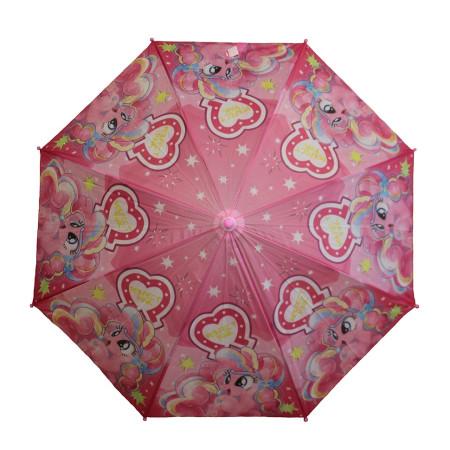Зонт детский Пони трость 8 спиц