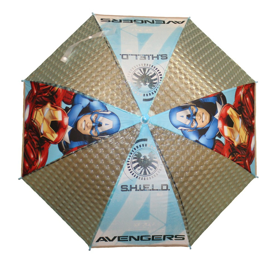 Зонт детский 3D трость 8 спиц