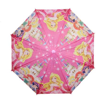 Зонт детский Принцессы трость 8 спиц