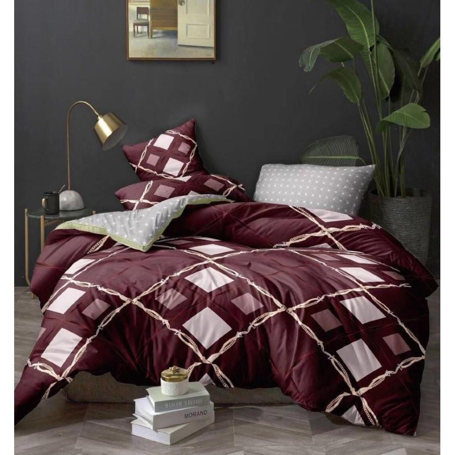 Комплект постельного белья ZARA HOME двухсторонний сатин ZARH001