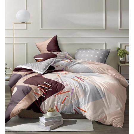 Комплект постельного белья ZARA HOME двухсторонний сатин ZARH002