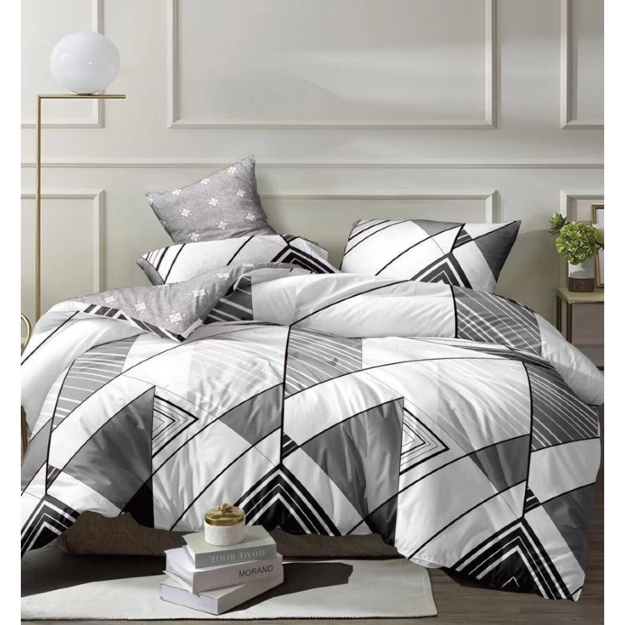 Комплект постельного белья ZARA HOME двухсторонний сатин ZARH003