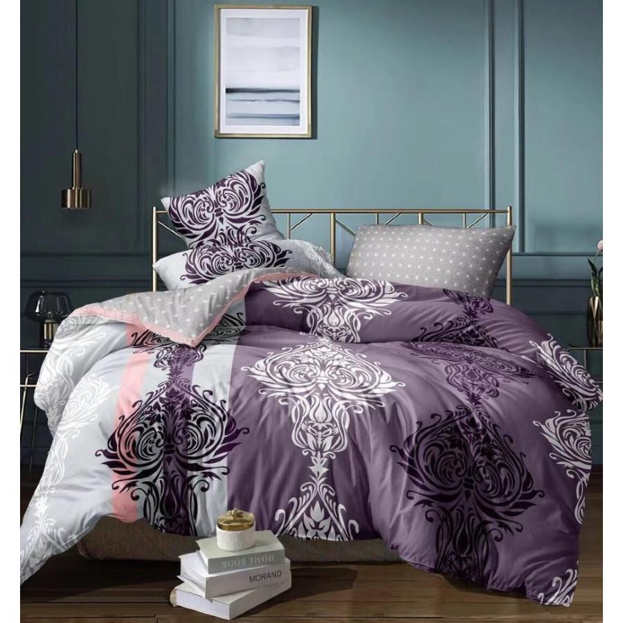 Комплект постельного белья ZARA HOME двухсторонний сатин ZARH008
