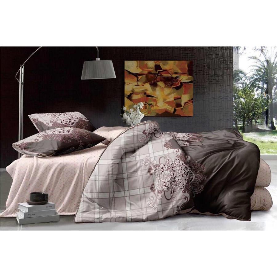 Комплект постельного белья ZARA HOME двухсторонний сатин ZARH019