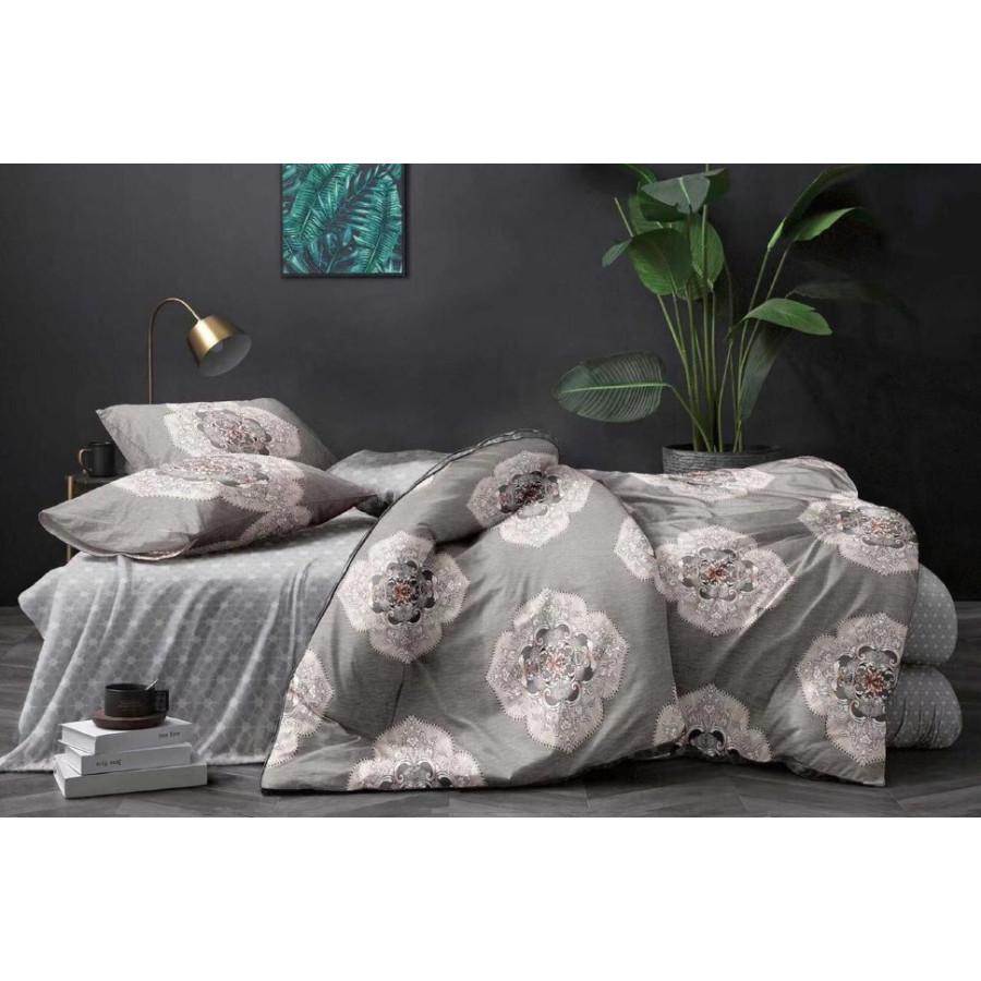 Комплект постельного белья ZARA HOME двухсторонний сатин ZARH023