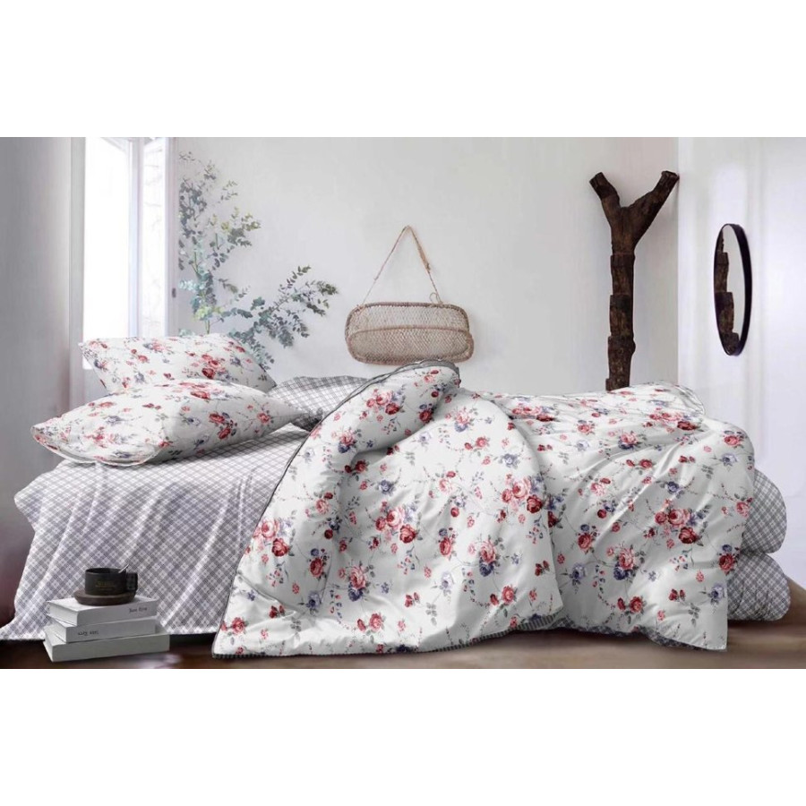 Комплект постельного белья ZARA HOME двухсторонний сатин ZARH024