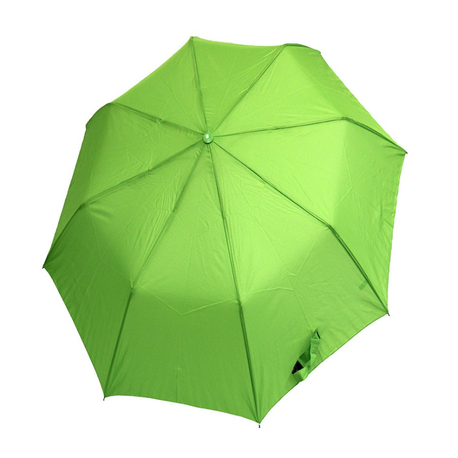 Зонт женский 3 сложения автомат однотонный 8 спиц