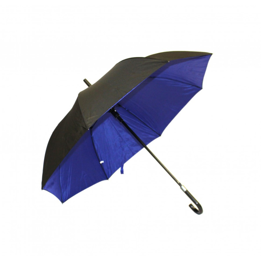Зонт-трость с двухслойным куполом 8 спиц