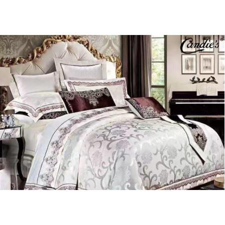 Комплект постельного белья Candie's Сатин-Жаккард в коробке CANSZ018