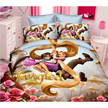 Детское постельное белье Рапунцель BORIS HAPPY BORHA023