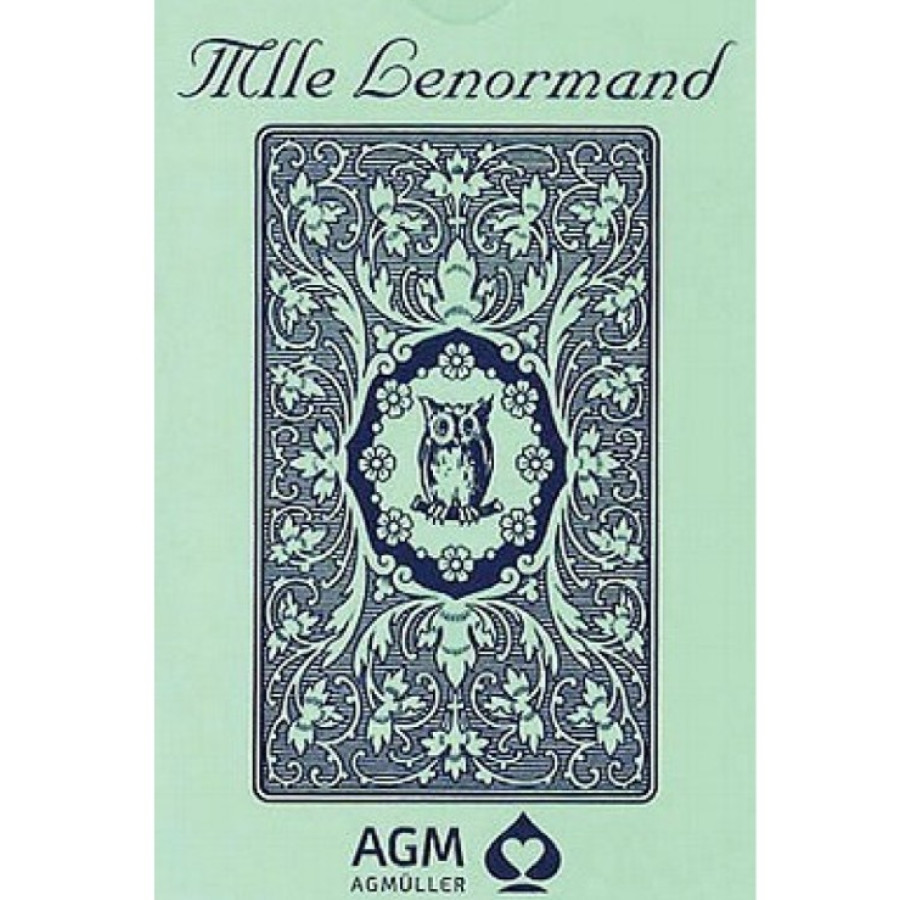 "Карты Таро: ""Mille Lenormand Blue Owl"""