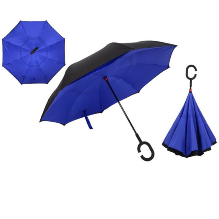 Обратный зонт (антизонт) двухцветный