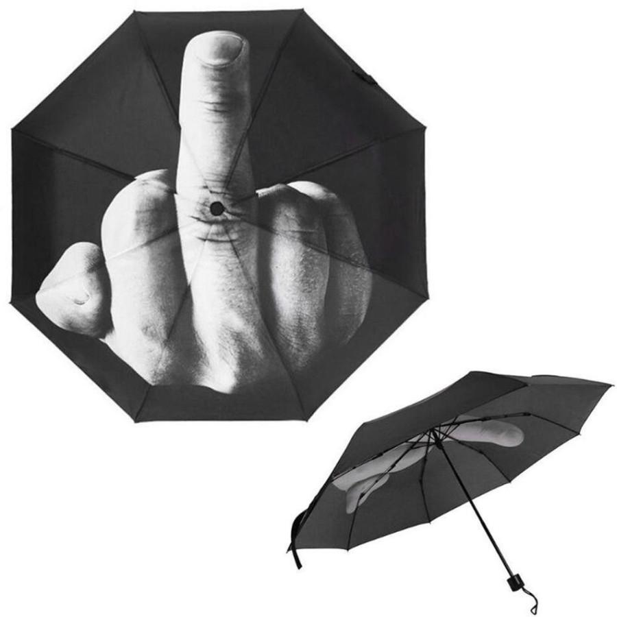 Зонт-автомат Средний палец