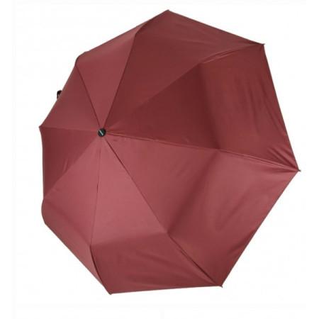 Зонт механический, бордовый