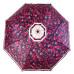 """Зонт женский 3 сложения полуавтомат полиэстер """"Цветной"""" диаметр купола 95 см 8 спиц"""