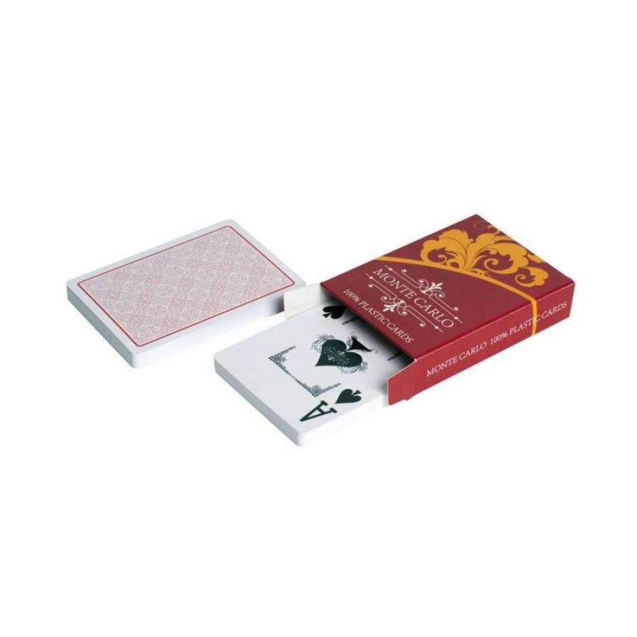 "Карты для покера ""Monte Carlo"" 100% пластик"