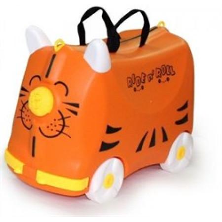 Чемодан детский на колесиках Ride-n-Roll Оранжевый