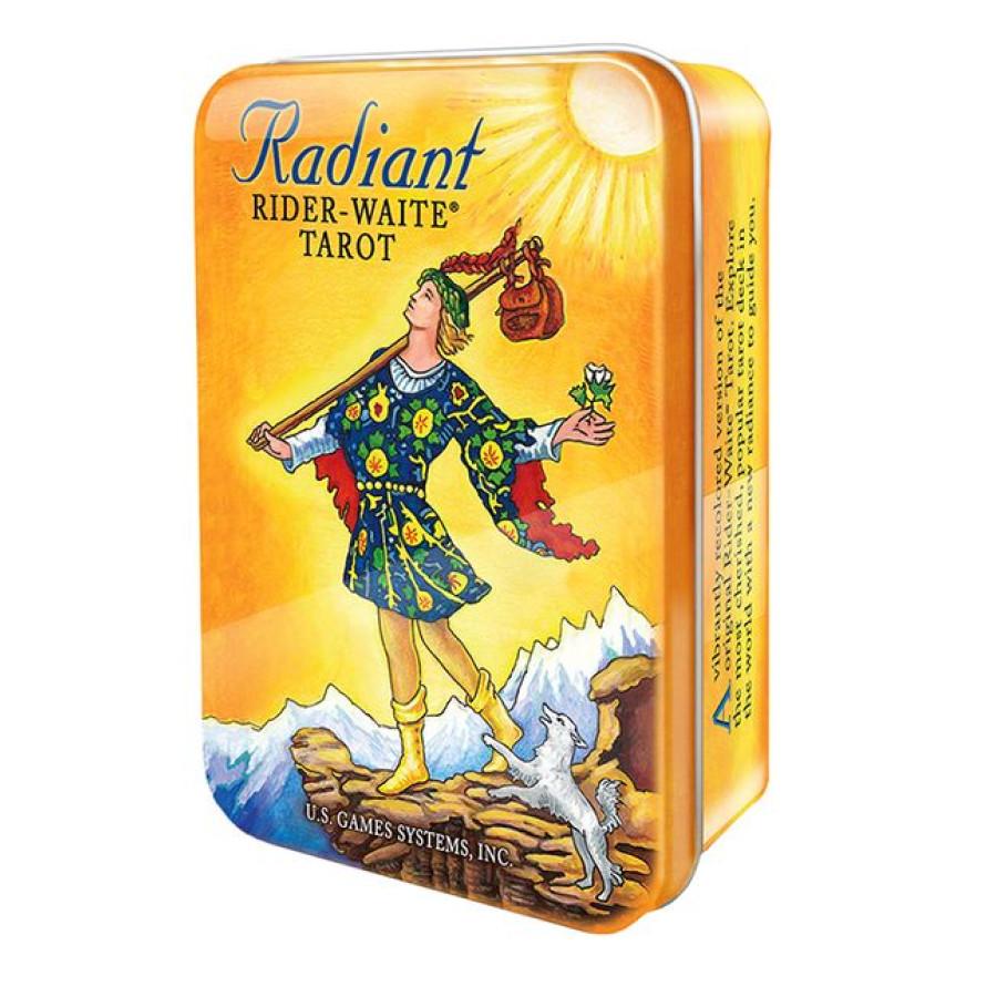 "Карты Таро: ""Radiant Rider-Waite Tarot deck in a Tin"""