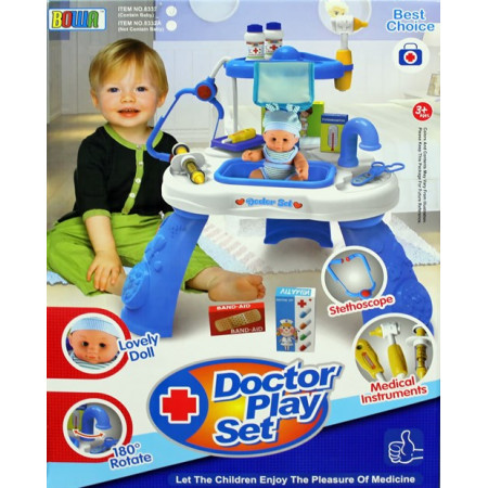 Детский набор доктор 22 предмета