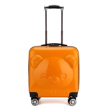 Детский чемодан Rilakkuma (Рилаккума) оранжевый