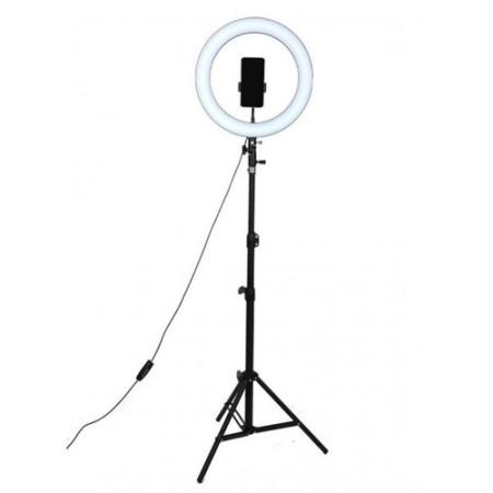 Кольцевая LED лампа 26 см со штативом 2.1м RING FILL LIGHT