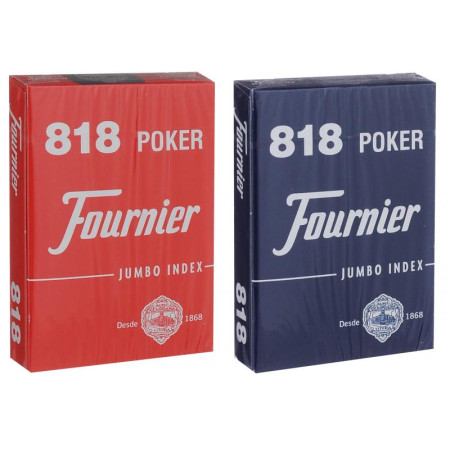 "Карты ""Fournier 818 red/blue"""