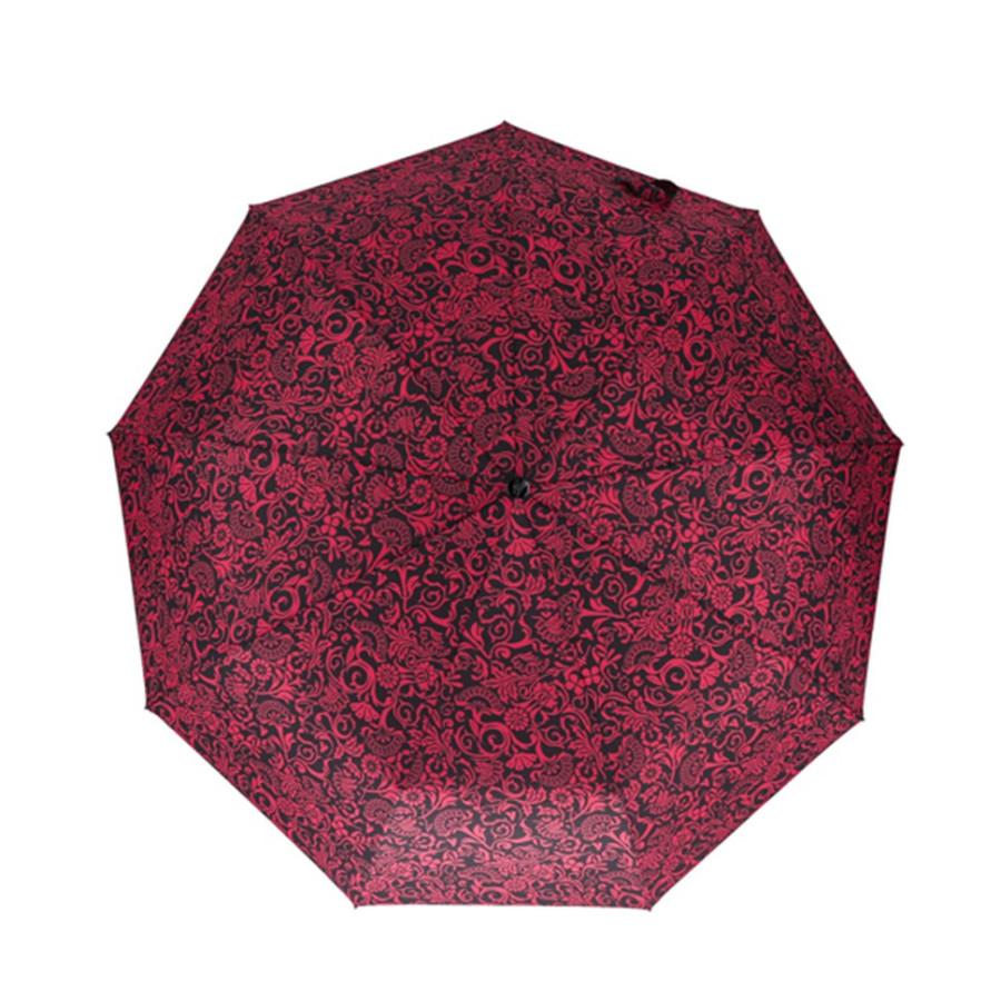 """Зонт женский 3 сложения автомат """"Яркий"""" диаметр купола 102 см 9 спиц"""