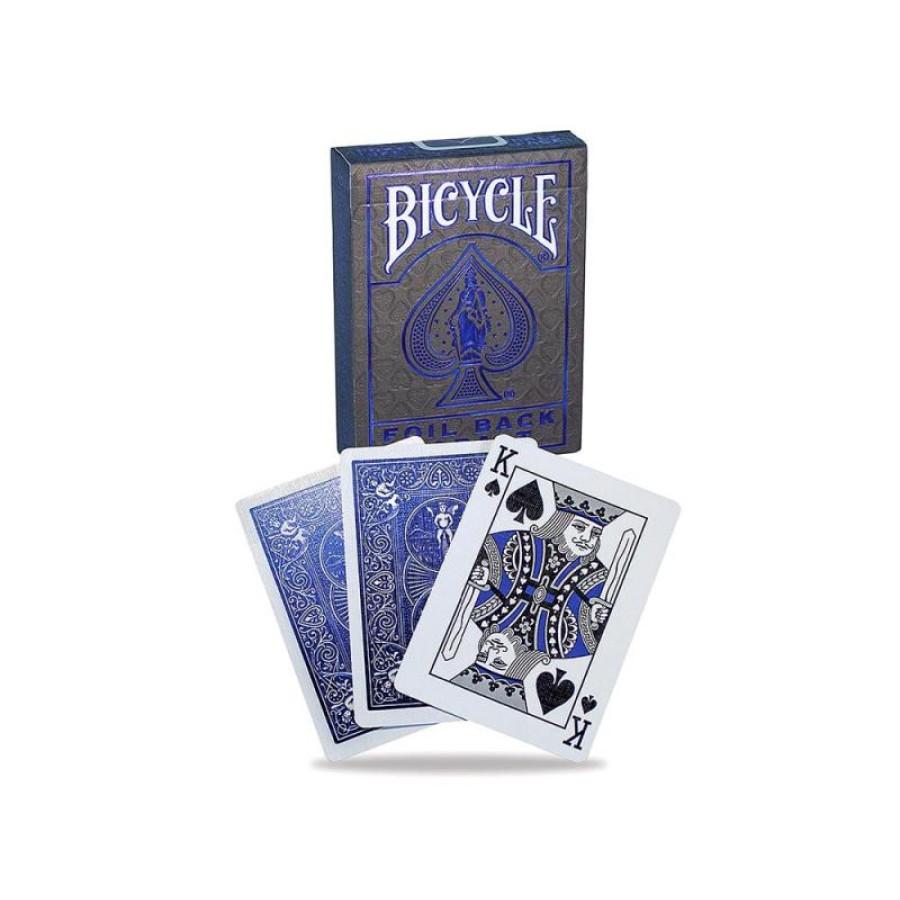 "Карты ""Bicycle Metalluxe Blue"""