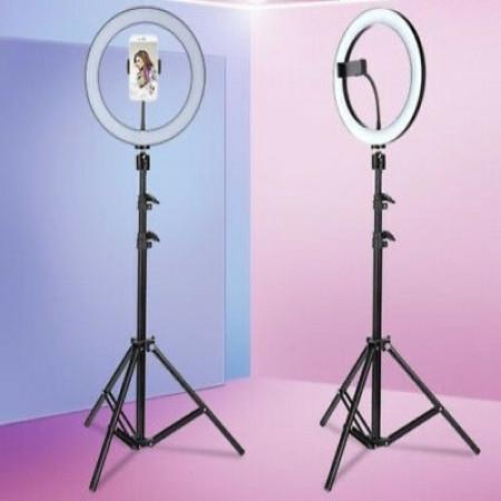 Кольцевая LED лампа 30 см со штативом 2.1м RING FILL LIGHT