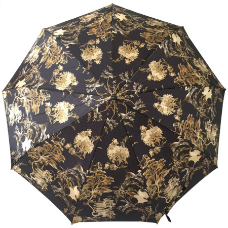 Женский зонт-автомат с прорезиненной ручкой Frei Regen арт. 18500