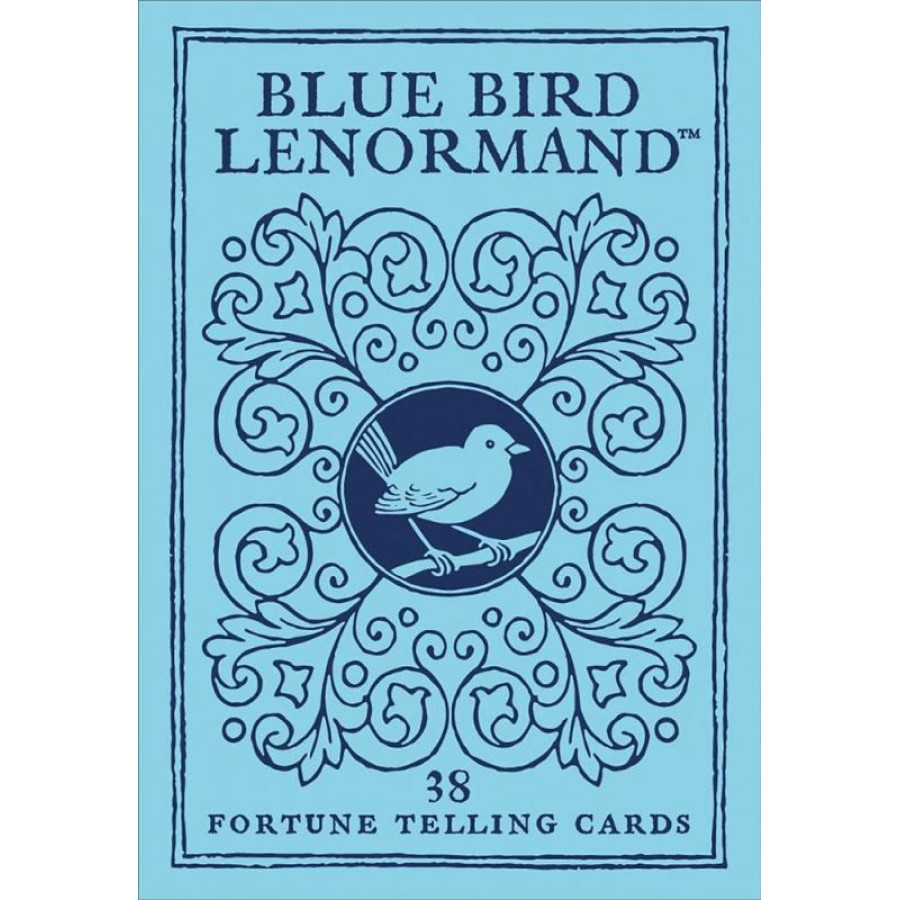 "Карты Таро: ""Blue Bird Lenormand"""