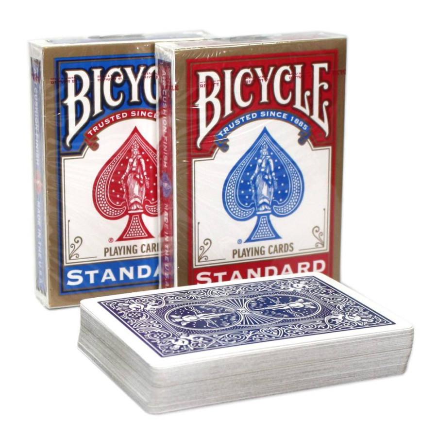 "Карты ""Bicycle Rider Back International Std. Index"" Red/Blue"