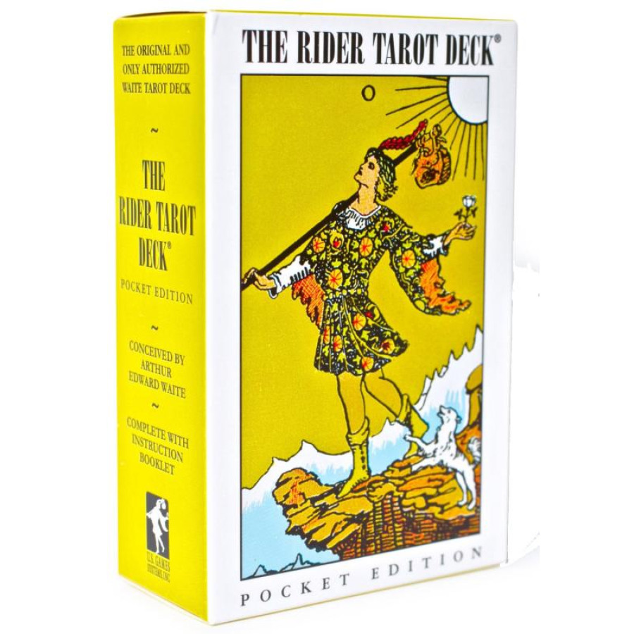 "Карты Таро: ""Rider-Waite Tarot Deck-Pocket Edition"""