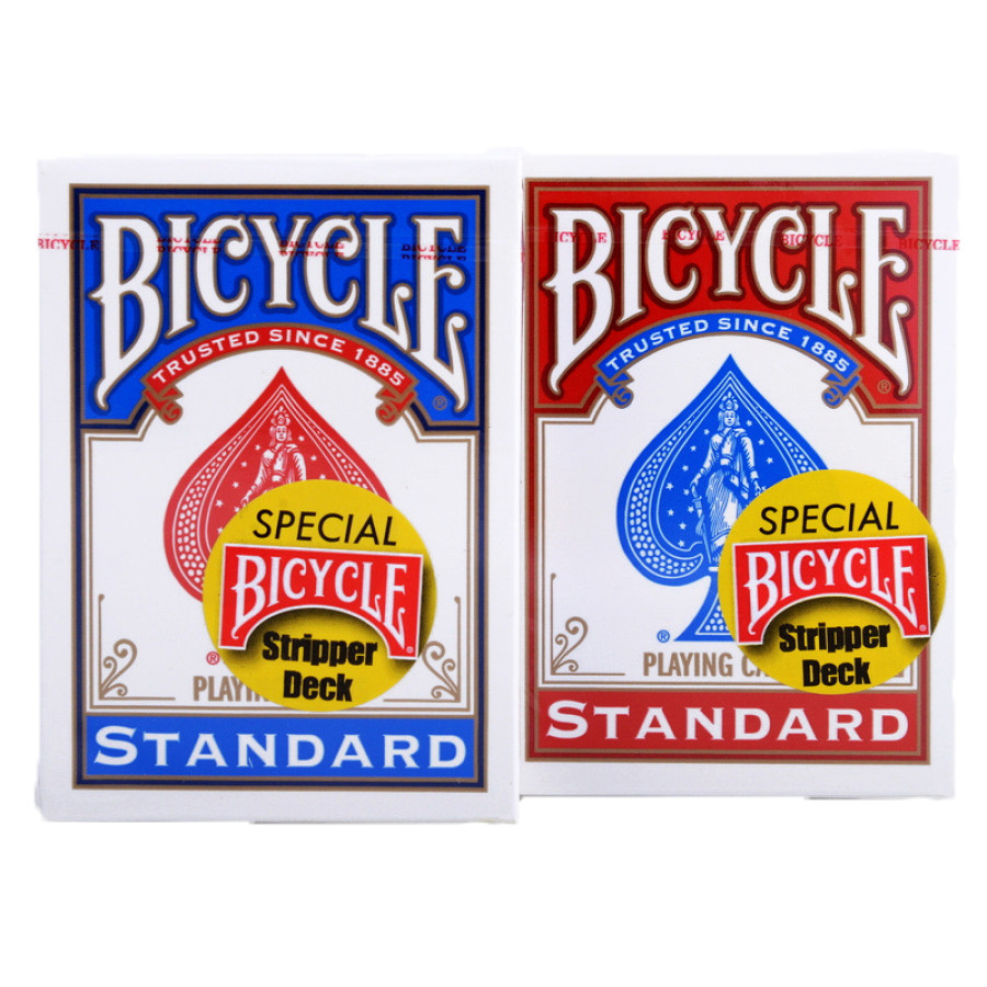 "Карты ""Bicycle Stripper Deck red/blue"""